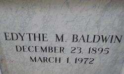 Edythe Mae <i>Mitchell</i> Baldwin