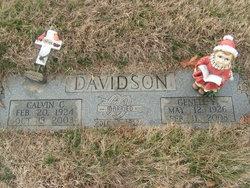 Dorothy Genell <i>Fletcher</i> Davidson