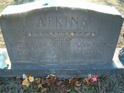 Malissa Newell <i>Melton</i> Atkins