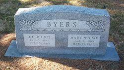 Mary Willie <i>Smith</i> Byers