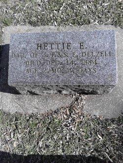 Hettie E. Delzell