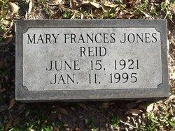 Mary Frances <i>Jones</i> Reid
