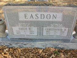 Callie D <i>Johnson</i> Easdon