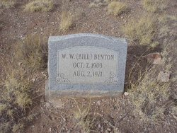 Wilburn William Bill Benton, Sr