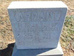 Hiram Reddick Arrant, Jr