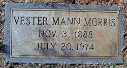 Vester <i>Mann</i> Morris
