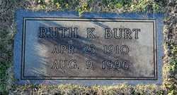 Ruth <i>Kilgore</i> Burt