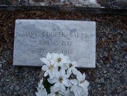 Mary S. <i>Cooper</i> Barrs