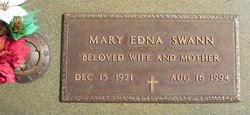 Mary Edna Swann