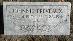 John Johnnie Preveaux