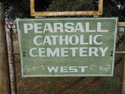 Pearsall Catholic Cemetery West
