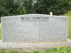 Beall Cemetery - Mouth of Sinking Creek