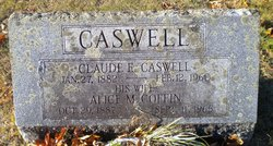 Alice M <i>Coffin</i> Caswell