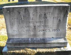Jennie W <i>Merrill</i> Doughty