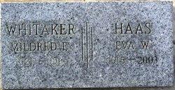 Eva Winona <i>Whitaker</i> Haas