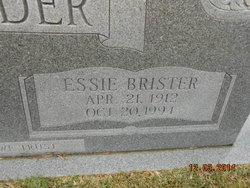 Essie <i>Brister</i> Alexander