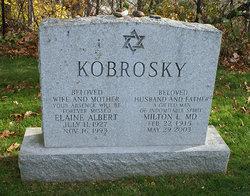 Elaine Harriet <i>Albert</i> Kobrosky