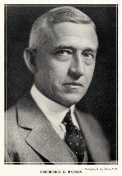 Frederick E. Matson