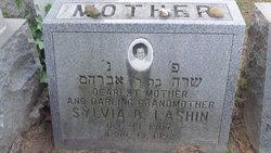 Sylvia Sarah <i>Barnett</i> Lashin