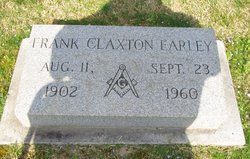Frank Claxton Earley
