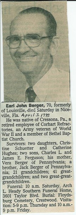 Earl John Berger