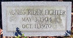 Agnes <i>Rider</i> Fichter