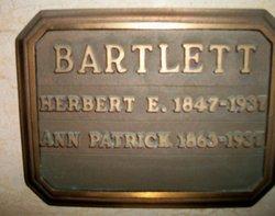 Herbert E Bartlett