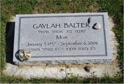 Gaylah G. Toby <i>Gerstein</i> Balter