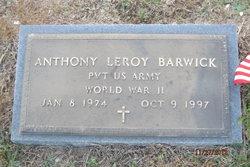 Anthony Leroy Barwick, Sr