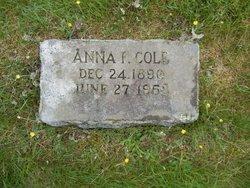 Anna F. Cole