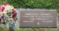 Ernestine <i>Moore</i> Alsdorf