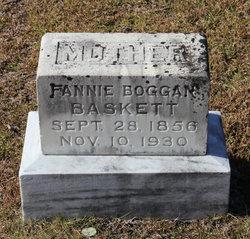 Fannie <i>Bogan</i> Baskett