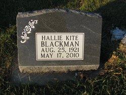 Hallie <i>Burke</i> Blackman