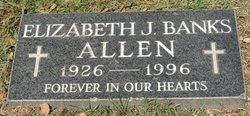 Elizabeth J <i>Banks</i> Allen