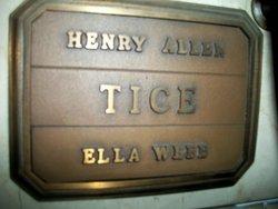 Ella <i>Webb</i> Tice