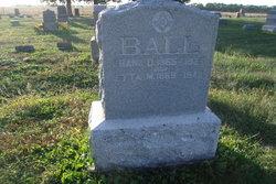 Etta May <i>Graves</i> Ball