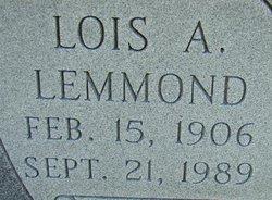 Lois Exar <i>Allen</i> Lemmond