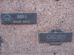 John Orval Calvin