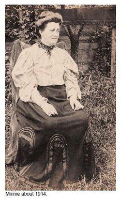 Maria Wilhelmina Augustina Minnie <i>Monighoff</i> Schwartz
