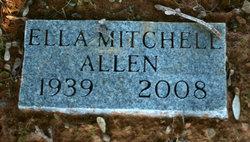 Ella <i>Mitchell</i> Allen