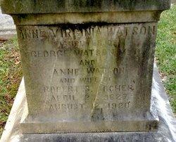 Anne Virginia <i>Watson</i> Archer