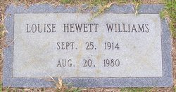 Dorothy Louise <i>Hewett</i> Williams