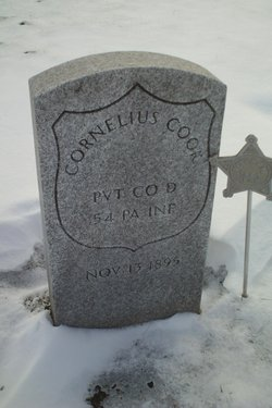 Pvt Cornelius Cook