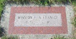 Winston R Alexander
