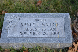 Nancy F <i>Herrold</i> Maurer