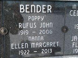 Rufus John Bender