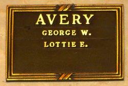 Lottie Elizabeth <i>Schwartz</i> Avery