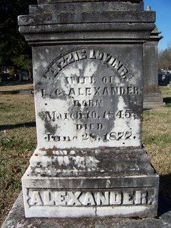 Ann Elizabeth Lizzie <i>Loving</i> Alexander
