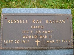 Russell Ray Bashaw