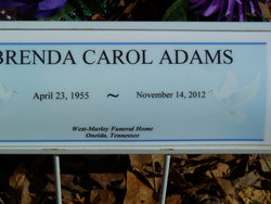 Brenda Carol Adams